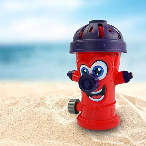 Webla Juguetes educativos para niños Spray de hidrante de agua al aire libre(rojo)