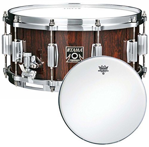 'Tama as656nrc Art Star rullante 14 'x 6,5 Natural Cordia + pelle Remo Ambassador Coated per rullante