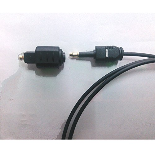 Mini Optical/Toslink Female Jack Plug To Toslink Male SPDIF Adapter Connector