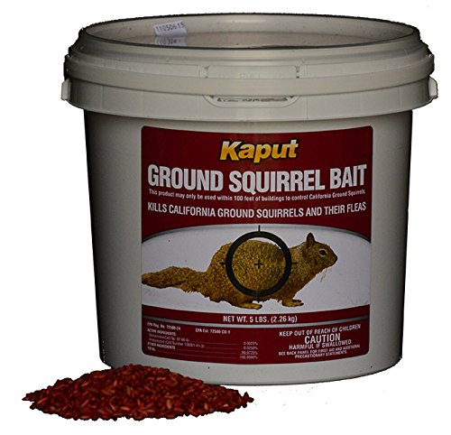 Kaput Ground Squirrel Poison Bait 50#- Diphacinone