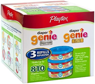Playtex Diaper Genie Refill 810 Count Total 3 Pack of 270 Each product image