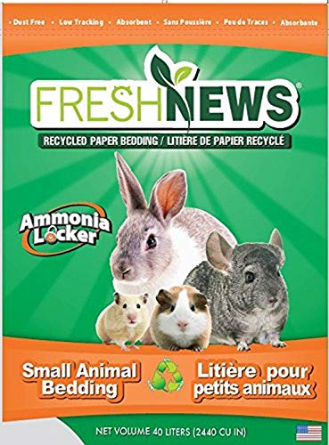 Fresh News Recycled Paper Bedding, Small Animal...