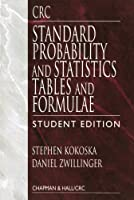 CRC Standard Probability and Statistics Tables and Formulae, Student Edition by Stephen Kokoska Daniel Zwillinger(2000-03-31)