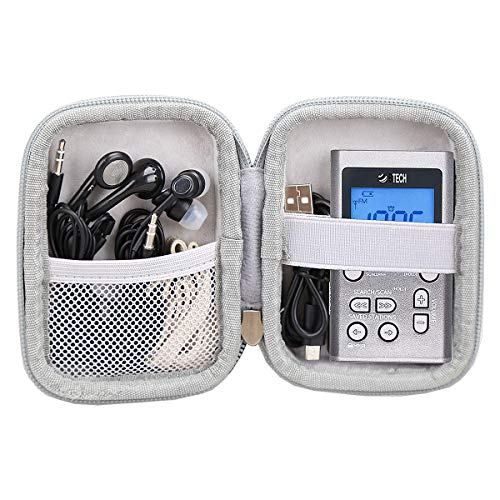 Aproca Hard Carry Travel Case for BTECH MPR-AF1 AM FM Personal Radio / AINOPE 10000mAh Power Bank