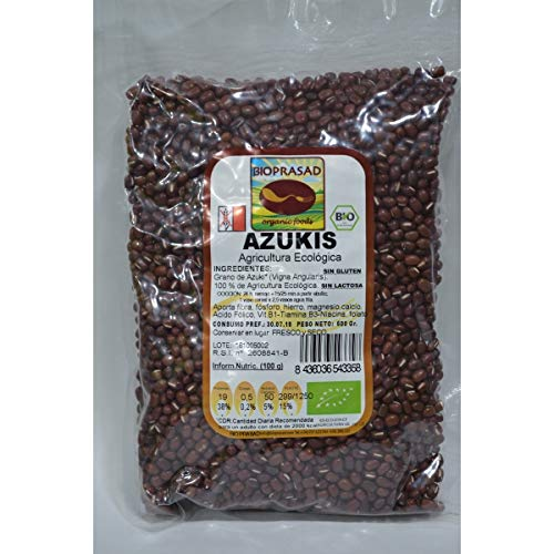 Azukis sin alérgenos Bioprasad 500 gr