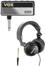 VOX AP2MT amPlug 2 Metal Guitar Headphone Amplifier with Over-Ear Headphones