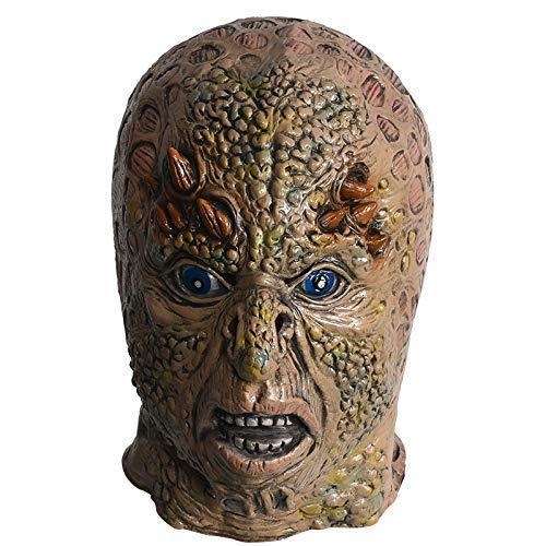 Malformada del Monstruo del Cuerno del Demonio Máscara de látex/Horror Maquillaje de Disfraces de Halloween/Adulto/casa encantada de los apoyos/Juego de Roles/Hombres y Mujeres Headwear ZHW3