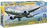 Zvezda Boeing 777-300144 / 1-7012 Kits ER-Modelo, plástico