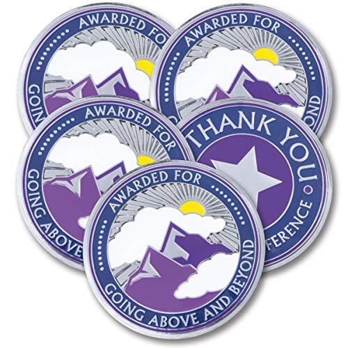 attacoin–5Münzen–Über und außerhalb–Mitarbeiter wertsteigerung Geschenke–Motivation Award