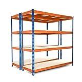 Racking Solutions - MEGA DEAL - 2 unidades de estantería / Estante del garaje de acero,...