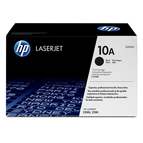 HP 10A | Q2610A | Toner Cartridge | Black | DISCONTINUED BY MANUFACTURER