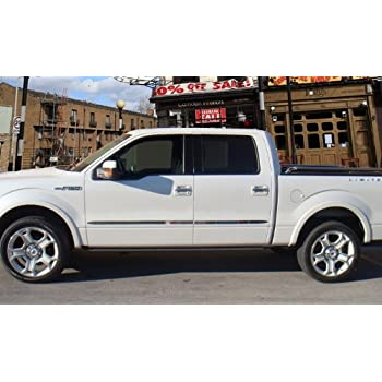 F-350 UNP UNPAINTED Dawn Enterprises FE-F250//350-CC Finished End Body Side Molding Compatible with Ford F-250