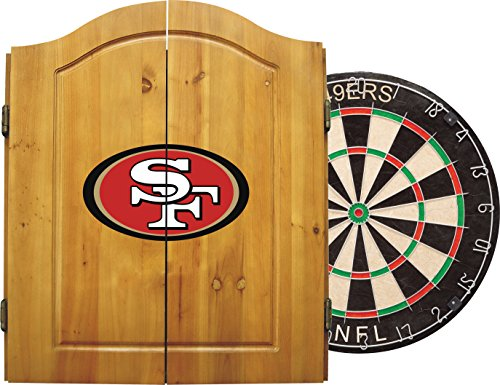 Learn More About Imperial Officially Licensed NFL Merchandise: Dart Cabinet Set with Steel Tip Brist...