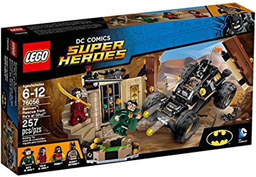 LEGO 76056–Super Heroes Batman: Salvataggio da Ra's al Ghul.