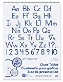Pacon Chart Tablets w/Manuscript Cover, Ruled, 24...