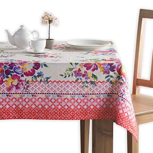 Maison d' Hermine Rose Garten 100% Baumwolle Tischdecke 160 cm X 220 cm