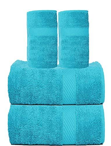 Trident Juego Toallas Cotton Extra Soft 4 Piezas baño