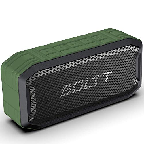 Boltt Fire-Boltt Xplode 1500 Portable Bluetooth Outdoor Speaker, IPX7 Waterproof & Weatherproof with Enhanced Bass (Green), (Model: BS1500)
