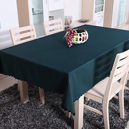 Lunana tafelkleed, rechthoekig, decoratie voor huis, linneneffect, tuin, tafelkleed buiten, geruit, modern design, tafelkleed in eenvoudige stijl - 150 x 300 cm
