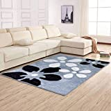 QZ HOME Super Weich Bequem Schlafzimmer Zuhause Dekoration Boden Schag Teppich Flauschiger Teppich Wohnzimmer Teppich Voller Teppich Kind Gamepad (Farbe : T1, größe : 120 cm x 170 cm)