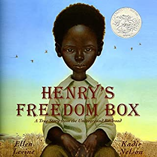 Henry's Freedom Box audiobook cover art