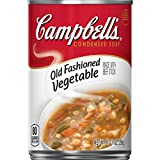 Campbell's Condensed Old Fashioned Vegetable Soup, 10.5 oz. Can (Pack of 12)