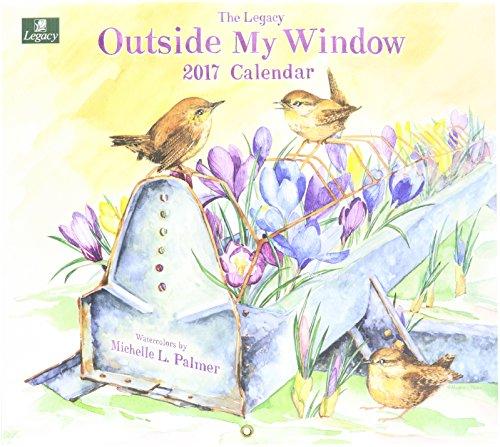 Legacy Publishing Group 2017 Wall Calendar, Outside My Window