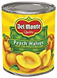 Del Monte Canned Yellow Cling Peach Halves in Heavy Syrup, 29-Ounce Can