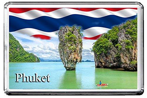 PHUKET FRIDGE MAGNET F004 THE CITY OF THAILAND MAGNETICA CALAMITA FRIGO