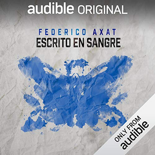 Escrito en sangre [Written in Blood] audiobook cover art
