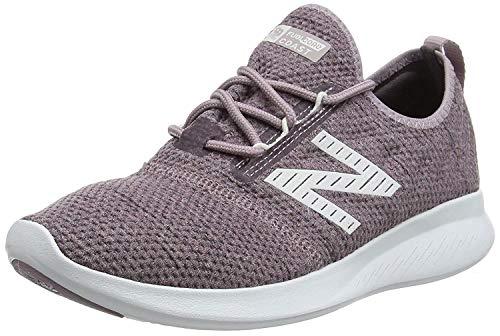 New Balance Fuel Core Coast v4, Zapatillas de Running para Mujer, Rosa (Cashmere/Light Shale/Nimbus Cloud Rf4), 38 EU