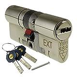 35/35 (70mm) Nickel YALE Platinum 3 Star Euro Cylinder Anti Snap Bump High Security uPVC Door Barrel TS2007:2013 Lock