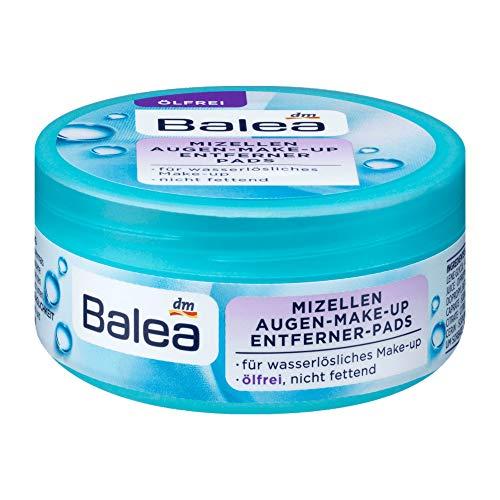 Balea Mizellen Augen-Make-up Entferner-Pads ölfrei, 1 x 50 St
