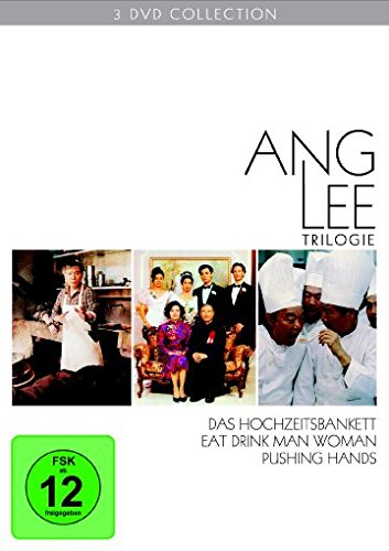 ANG LEE TRILOGIE - 1992 PUSHING DVD HAN Complete Free Shipping Limited time for free shipping