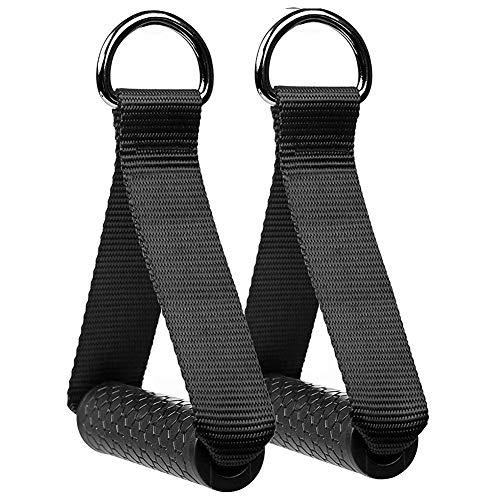 FHYT 2pcs Maniglie per Fitness di Resistenze Manico Resistenza Band gestire Heavy Duty Cavo Attacco Macchina con Nucleo in ABS, per Fitness Allenamento Palestra Pilates Yoga