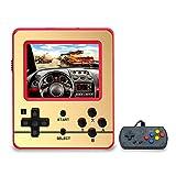 Anbernic Consolas de Juegos Portátil ,Consolas de Juegos de Mano Retro FC Handheld Game Console 3 Pulgadas 520 Classic Game Console with 1PCS Joystick (Red)
