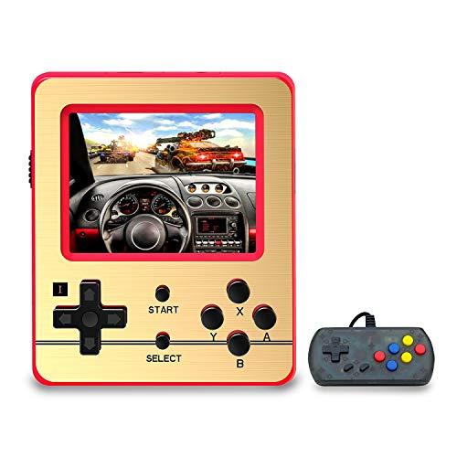 Anbernic Console di Giochi Portatile , Console di Giochi Retro Game Console 3.0 Pollice 520 Classic Giochi ,TV Output Videogioco Portatile per Genitori dei Bambini Amici - Rosso