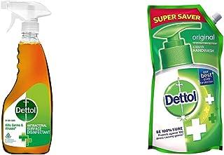 Dettol Disinfectant Cleaner Spray 500ml & Handwash refill (Original) 750ml