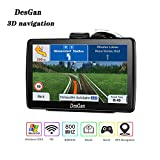 GPS Navigation for Car,7 inch 8GB HD Navigation System for Cars, Live Voice Navigation, Free Map Updates