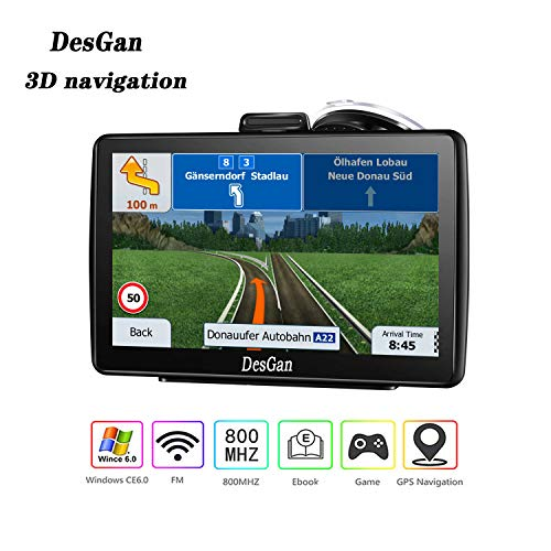 Read About GPS Navigation for Car,7 inch 8GB HD Navigation System for Cars, Live Voice Navigation, F...