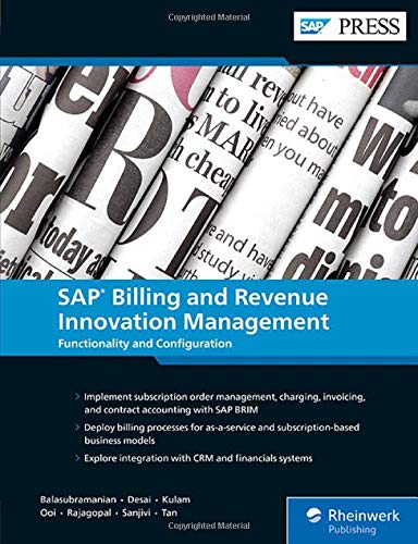SAP Billing and Revenue Innovation Management (SAP BRIM) (SAP PRESS)