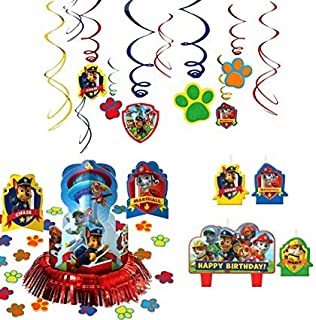 Amscan Paw Patrol Party Supplies Pack Decorations