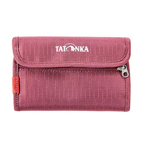 Tatonka ID Wallet Geldbeutel, Bordeaux red, 14,5 x 9,5 x 1 cm