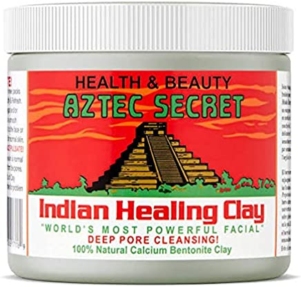 Aztec Secrets, Face Pack Mask For Anti Acne, Skin Glow, Depigmentation, Tan Removal 454gm