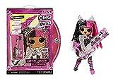 LOL Surprise OMG Remix Rock Muñeca METAL CHICK - 15 sorpresas que incluyen guitarra eléctrica, vestido, zapatos, cepillo, soporte para muñecas, letras y paquete de tocadiscos - Edad: 4+