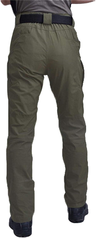 Les umes Pantalon de travail militaire l/éger en t/éflon Ripstop pour homme