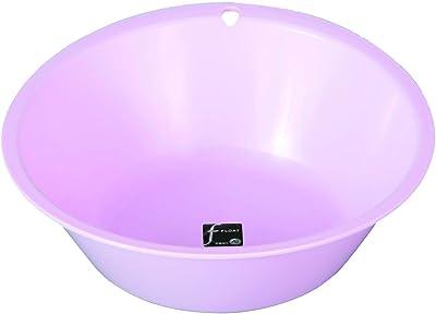 新輝合成 TONBO フロート洗面器 フック穴付 ピンク 07739 31×30×9.5cm