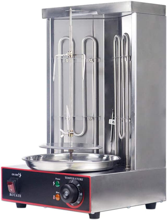 Zz Pro Electric Vertical Broiler Grill Doner Reservation Gyro Award Kebab Shawarma