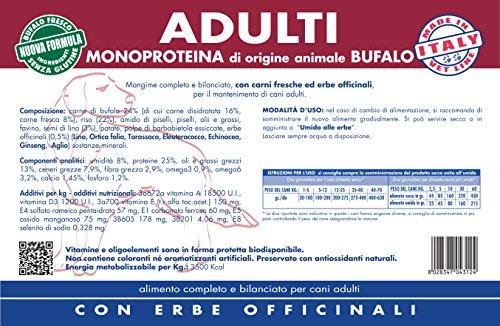Vet Line Adulti Monoproteico al Bufalo kg.12,5