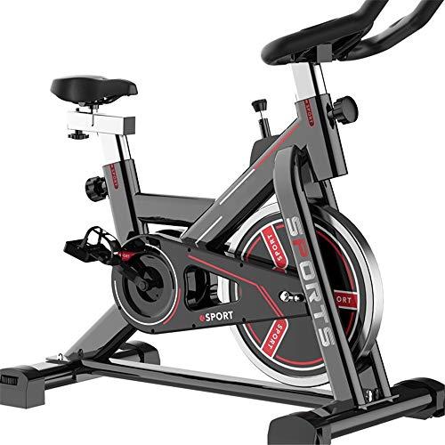 HYMY Plegable de Ejercicio físico de Bicicletas Inicio Bicicleta de Spinning Bicicleta estática Cubierta de Hilado Equipo de la Aptitud Bicicleta estática con Velocidad, Distancia, Tiempo, calorías